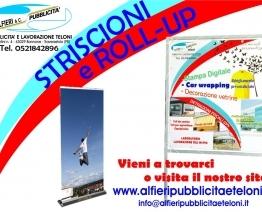 Striscioni e Roll up personalizzati da Alfieri Snc per un'estate di feste
