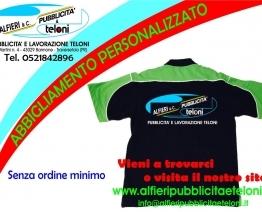 Abbigliamento personalizzato con la tua grafica preferita da Alfieri Snc. Chiamaci per saperne di più!